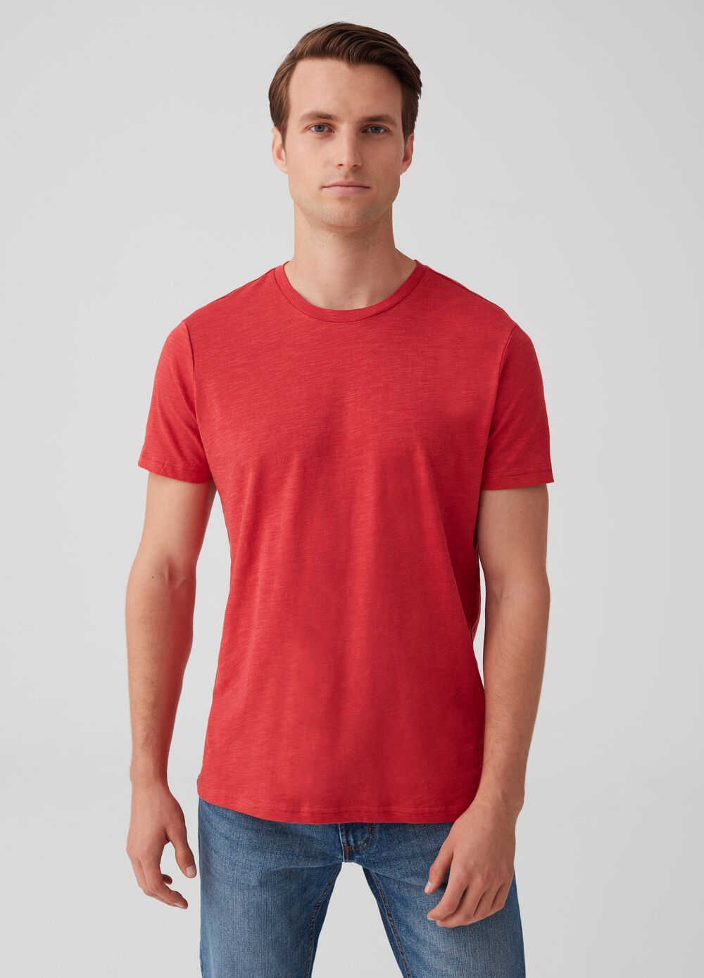Two-pack solid colour 100% cotton T-shirts