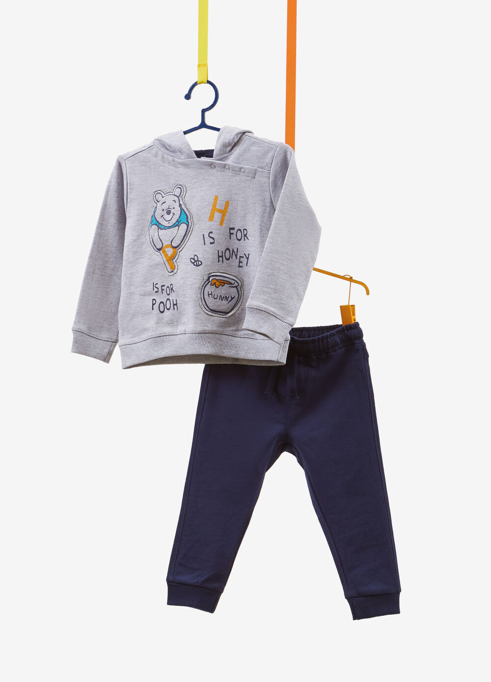 Winnie the Pooh cotton blend tracksuit