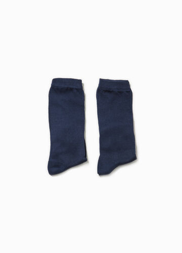 Two-pair pack long socks in cotton