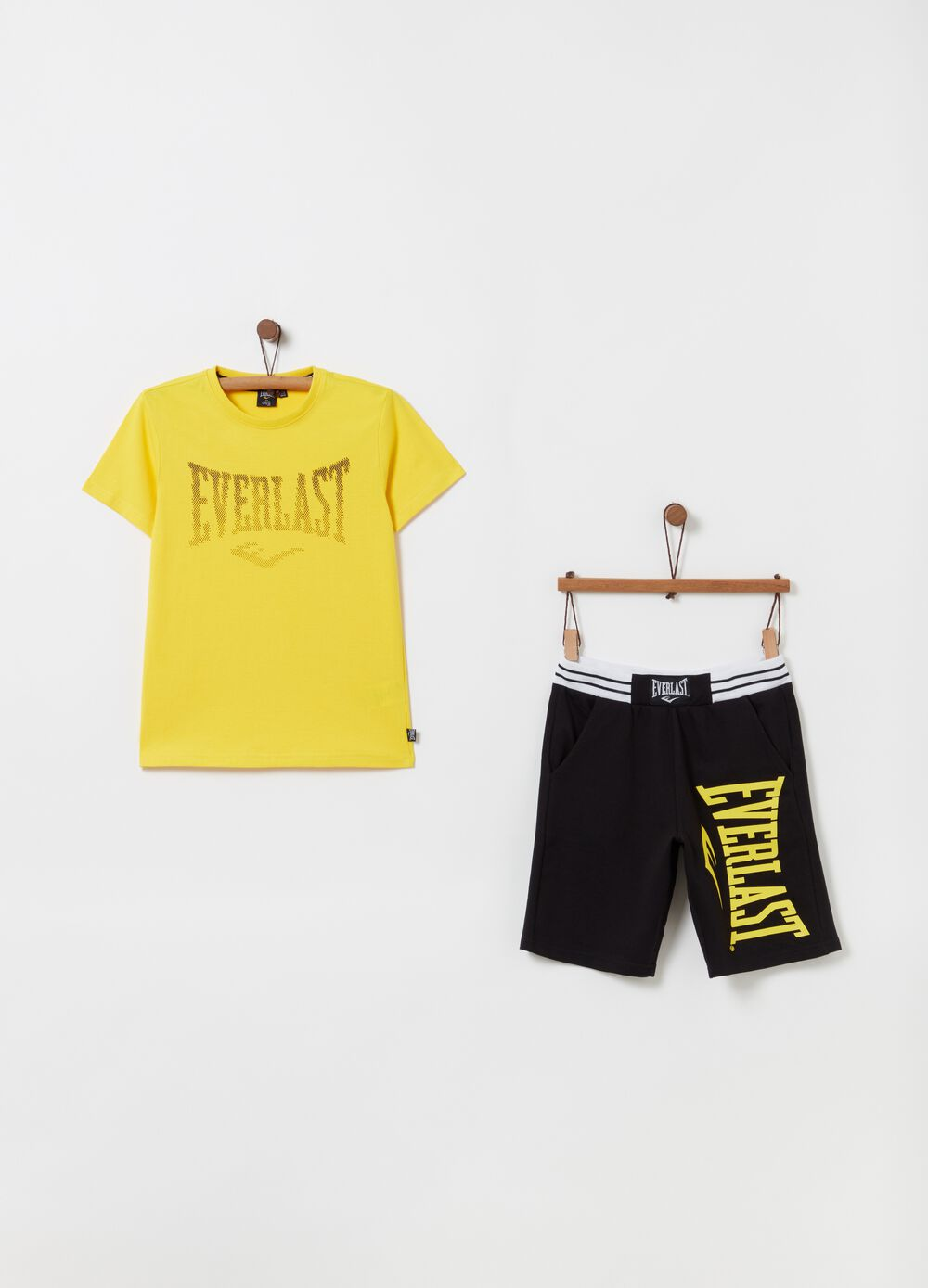 Everlast T-shirt and shorts jogging set