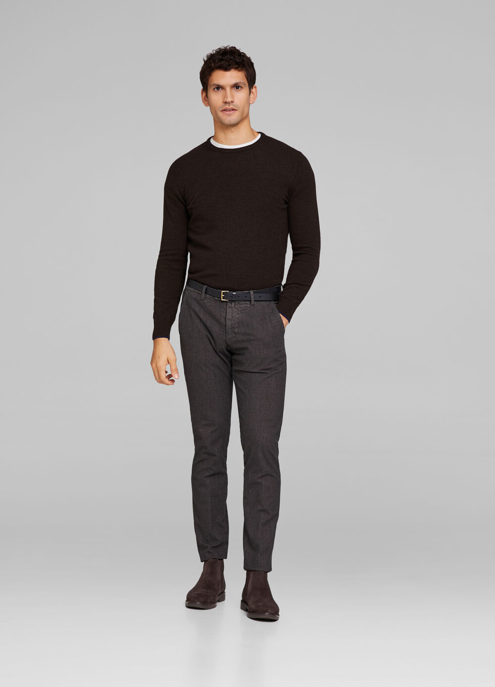 Rumford mélange trousers