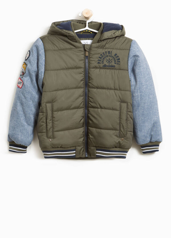 Bomber jacket with patch and embroidery | OVS