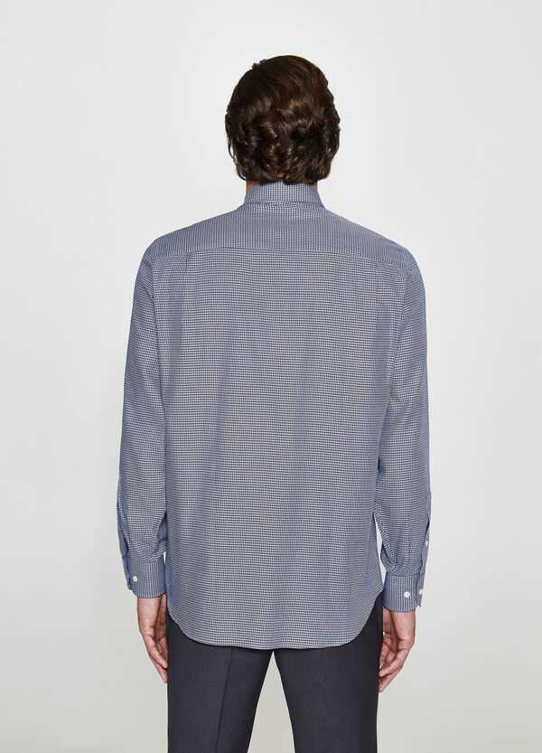 Camicia elegante regular fit fantasia