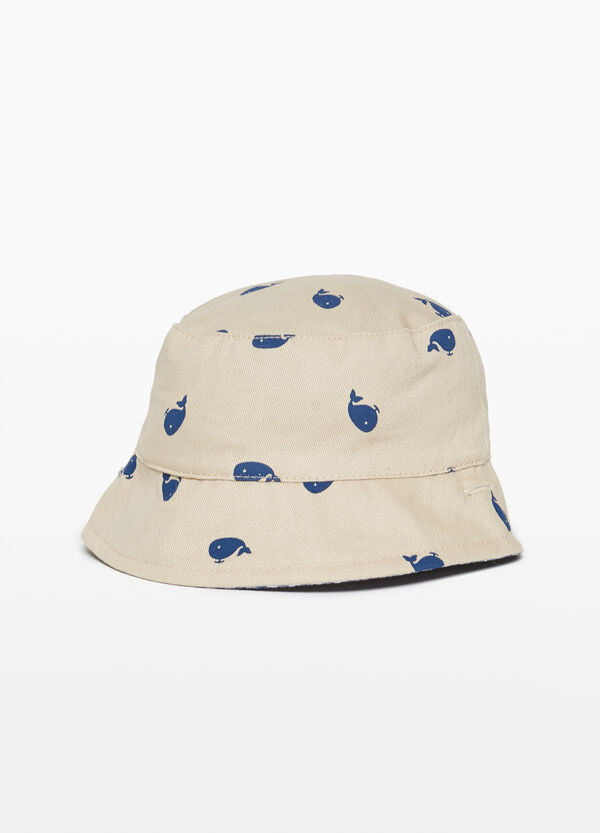 Whale fishing hat