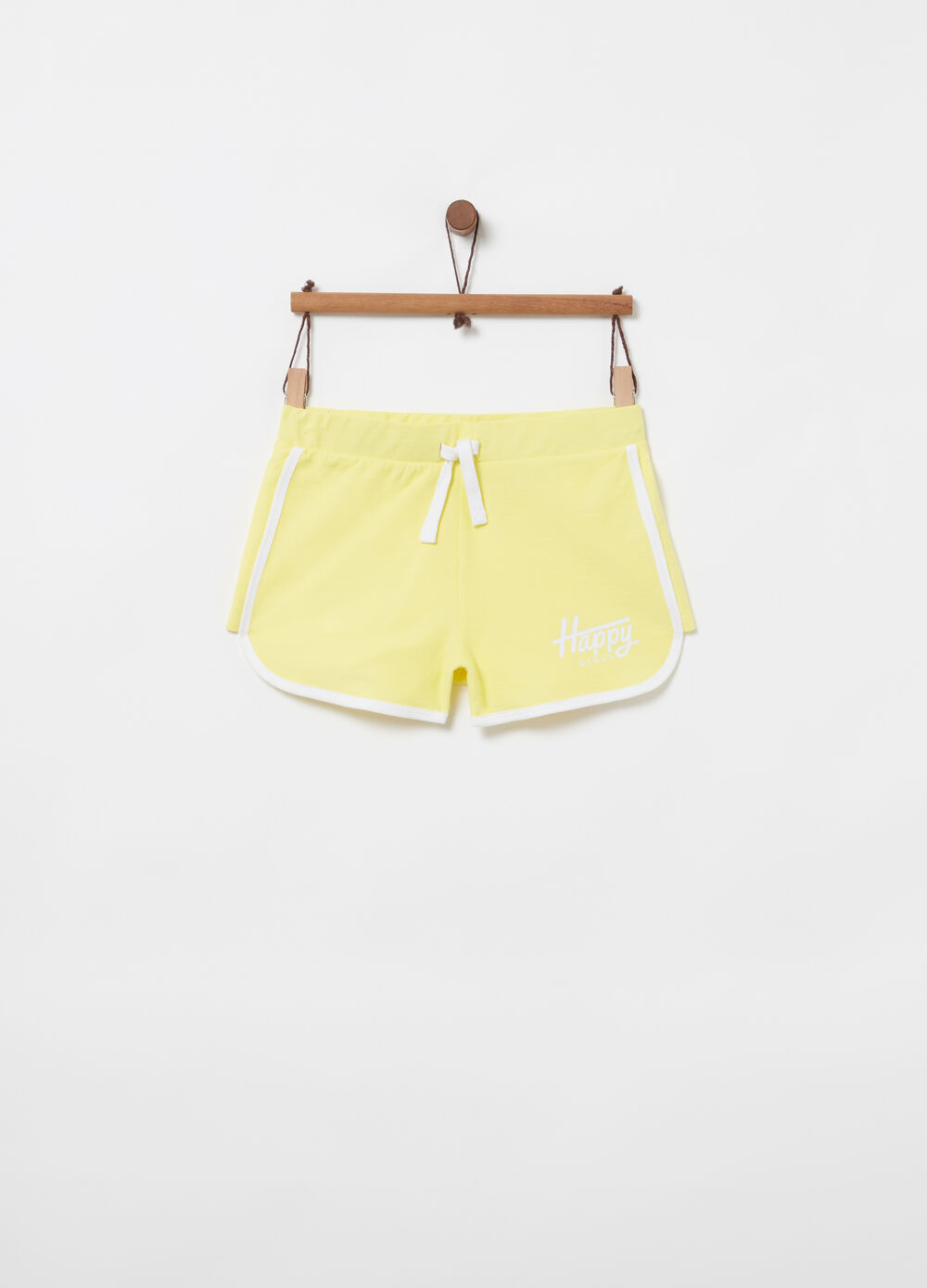 Shorts French Terry vita elasticate stampa