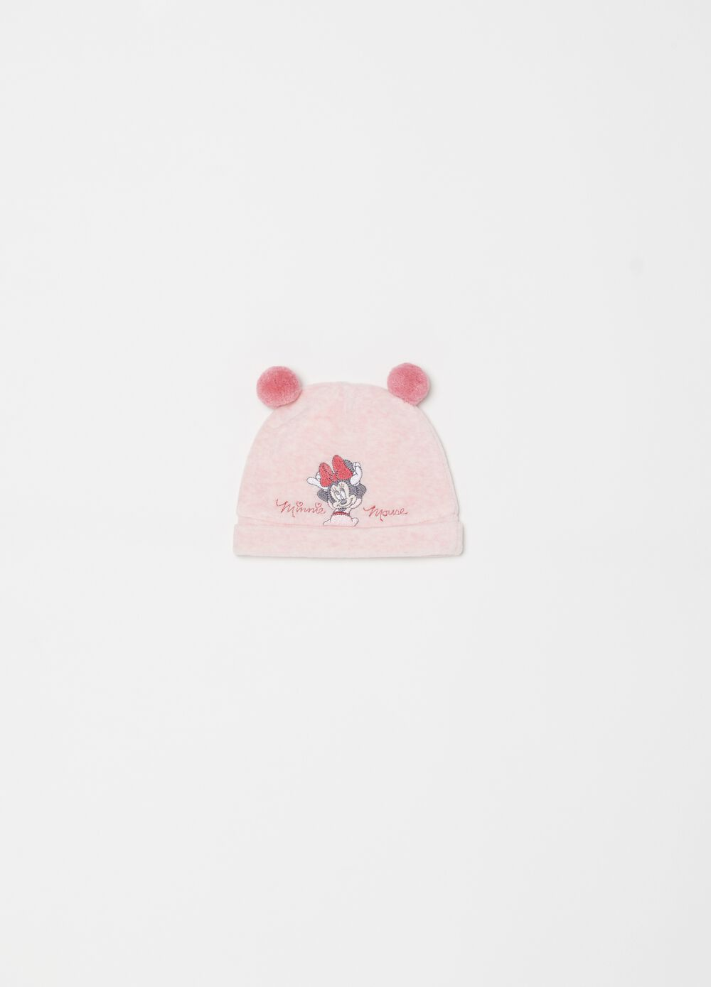 Disney Minnie Mouse hat with pompoms