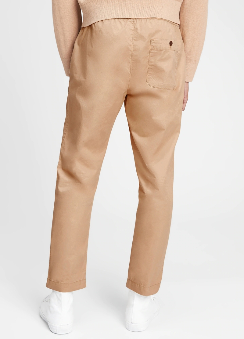 GAP chino joggers with drawstring image number null