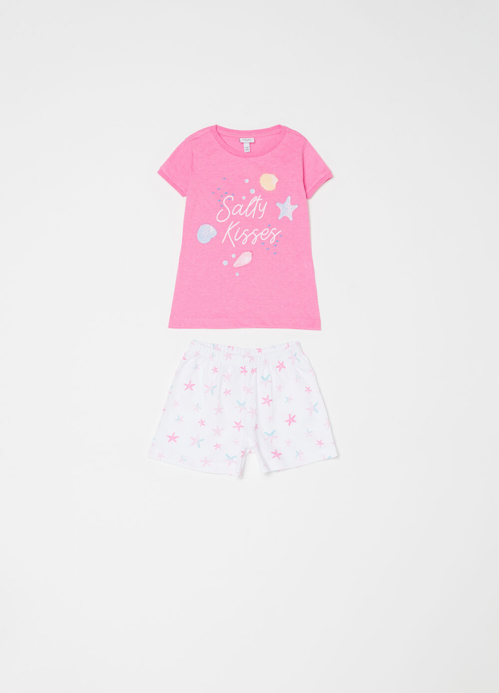 Pyjamas with Minnie Mouse and Daisy Duck T-shirt and shorts