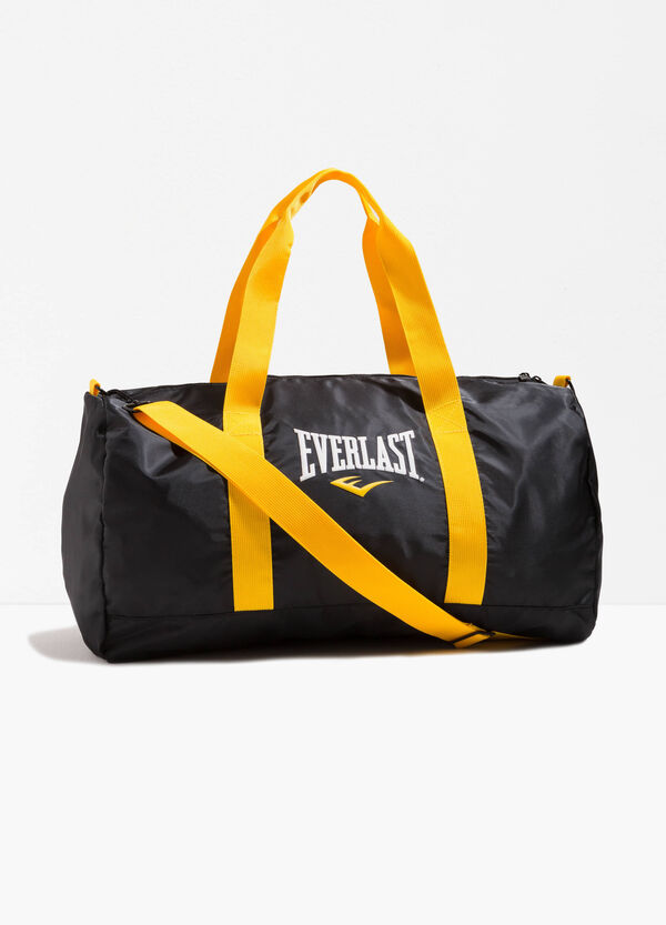 Shoulder bag with lettering print