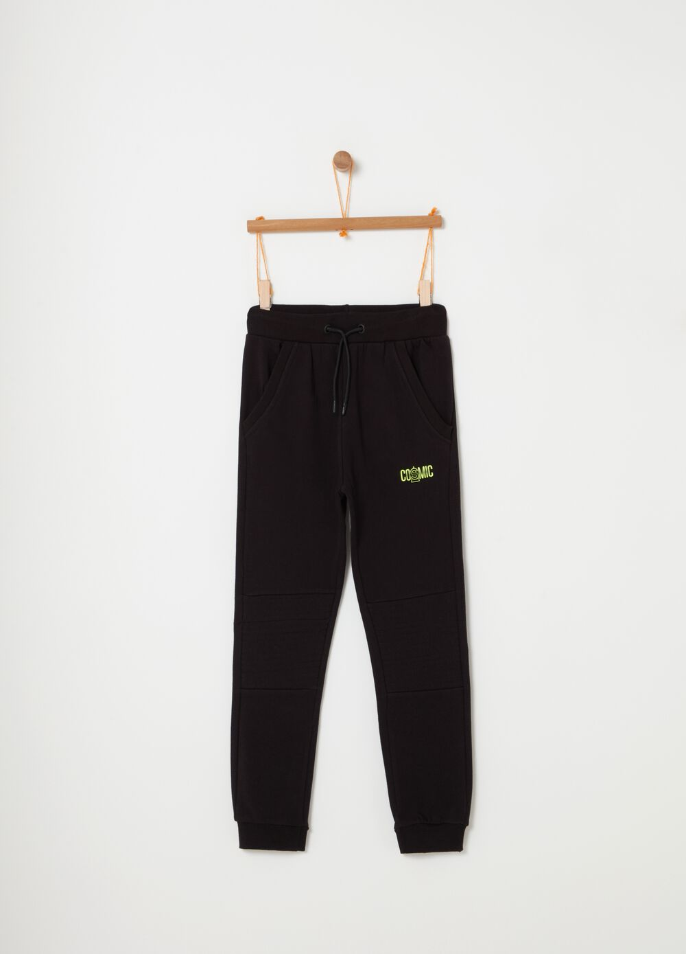 Jogger in French Terry puro cotone