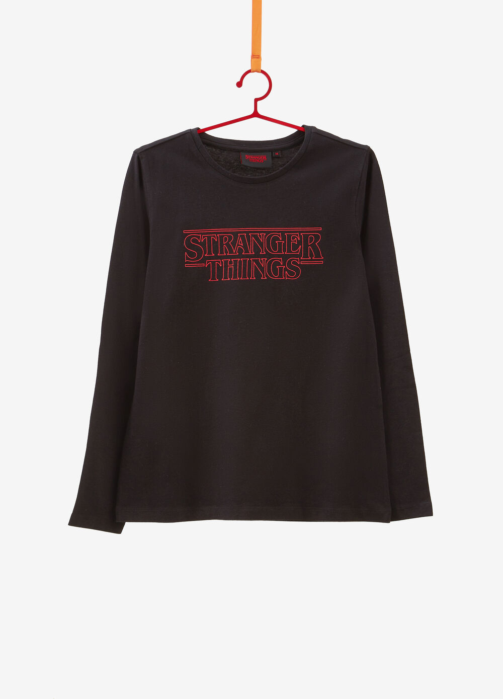 Stranger Things T-shirt with long sleeves