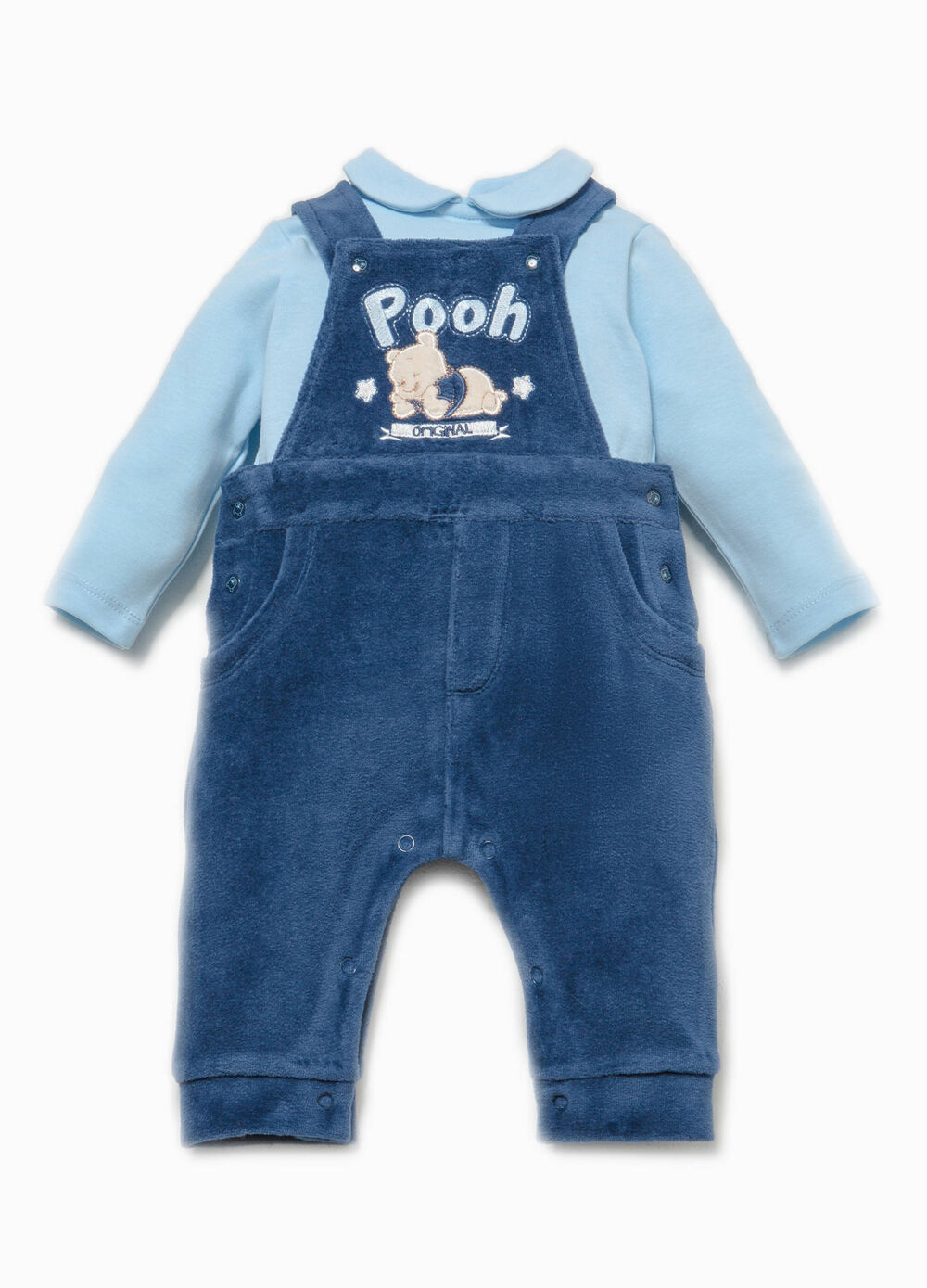 Winnie the Pooh T-shirt and dungarees set