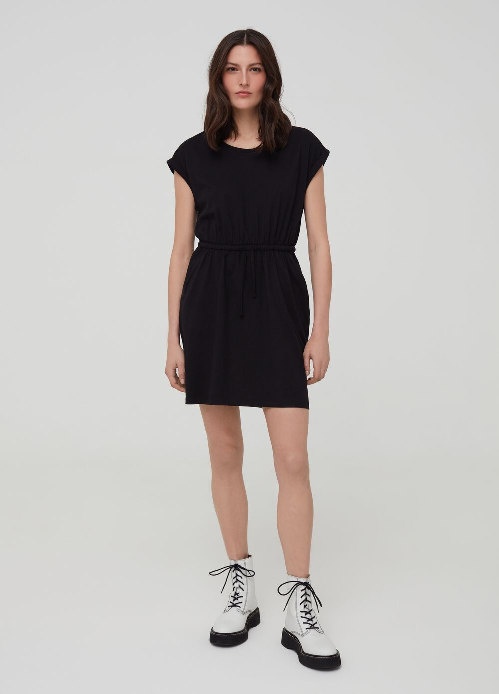 100% cotton dress with pockets