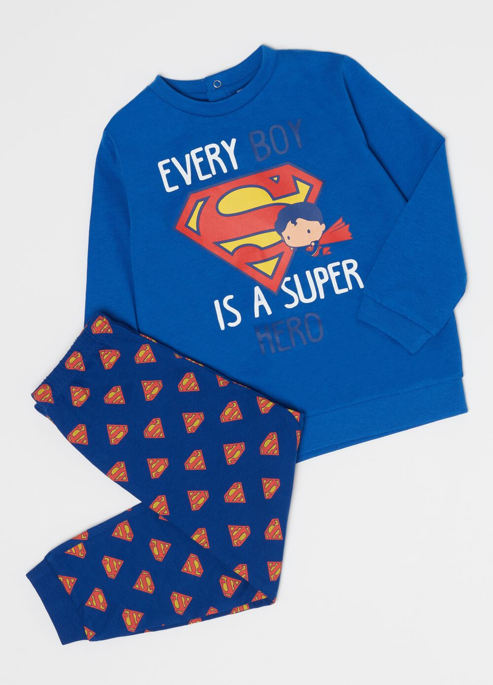 Long Warner Bros Supergirl pyjamas