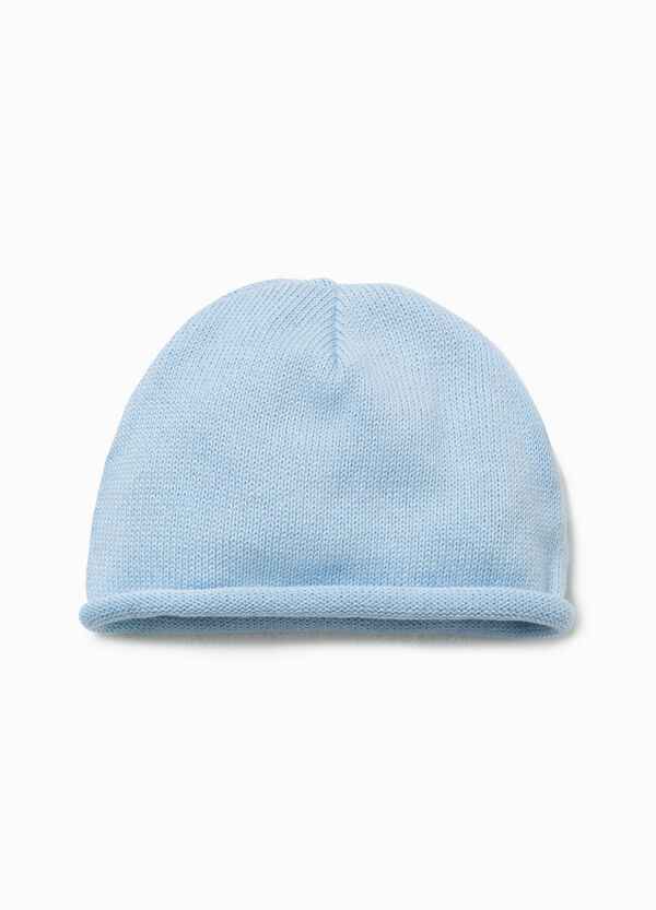Beanie cap with roll-up brim | OVS