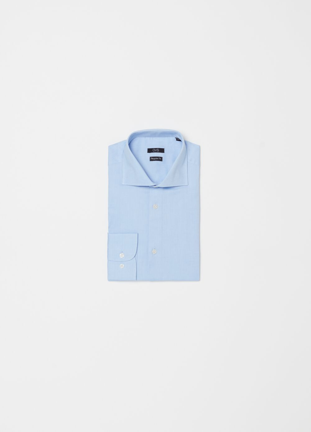 100% cotton regular-fit shirt with buttons