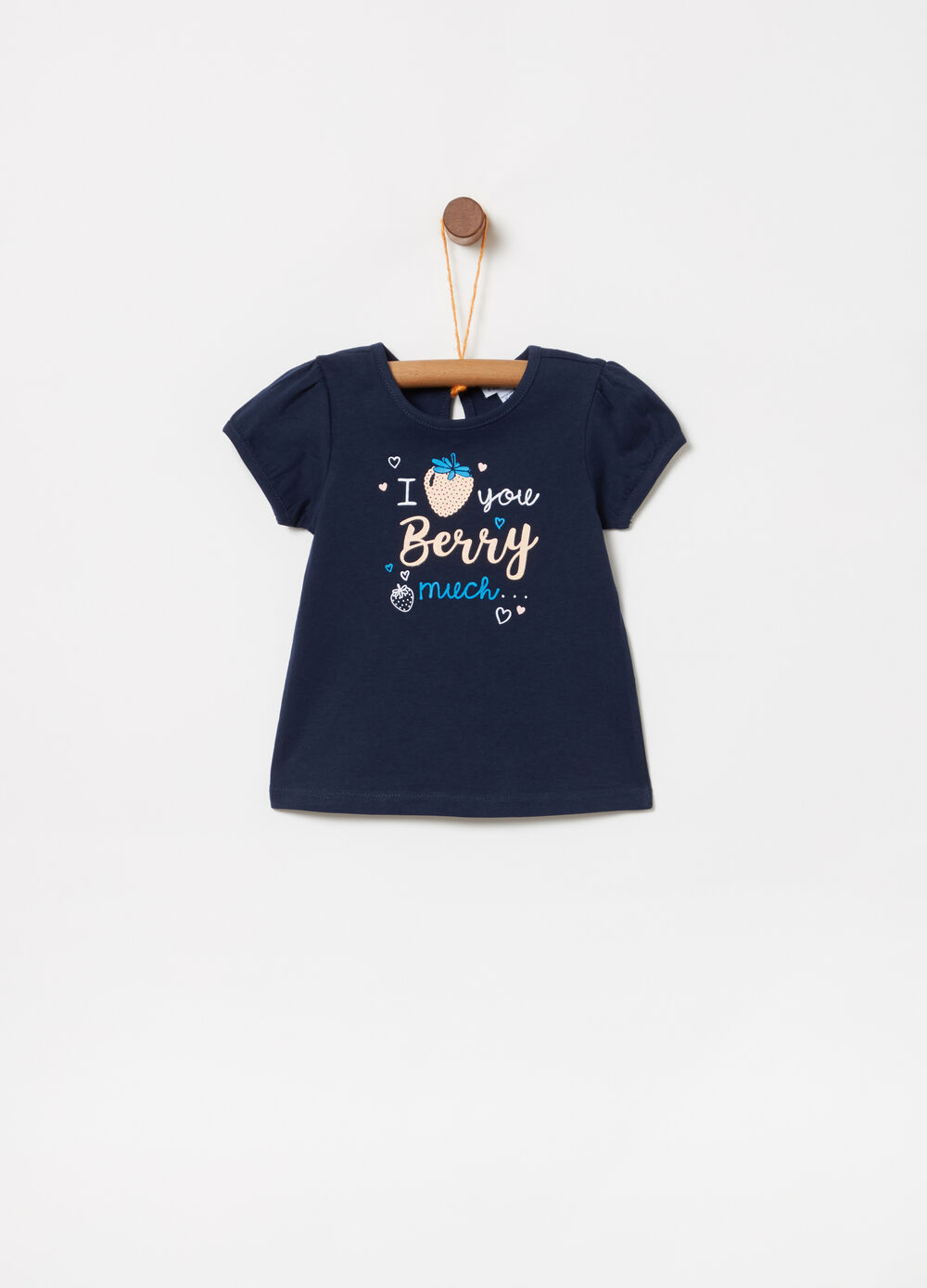 BCI T-shirt with strawberry print