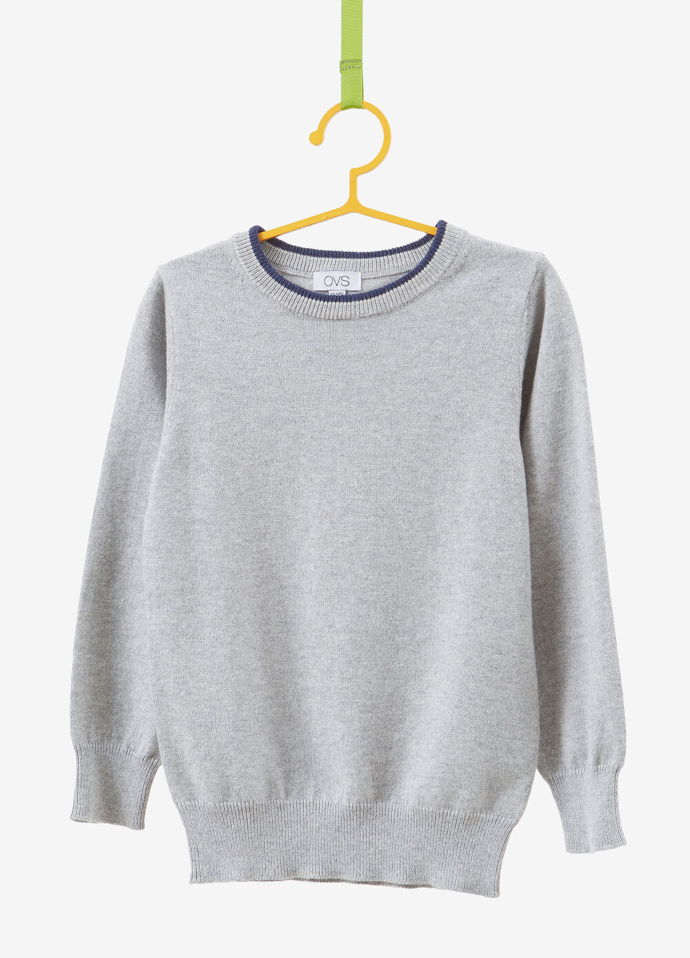 Cashmere and cotton knitted pullover