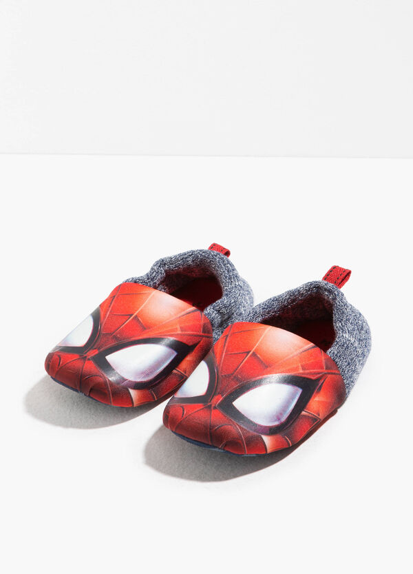 Spiderman canvas slippers   OVS