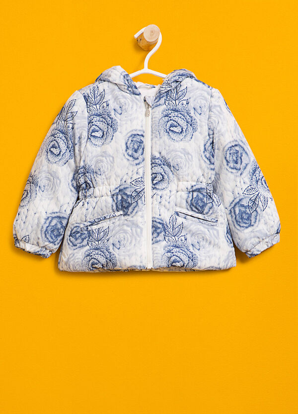 Jacket with floral print | OVS