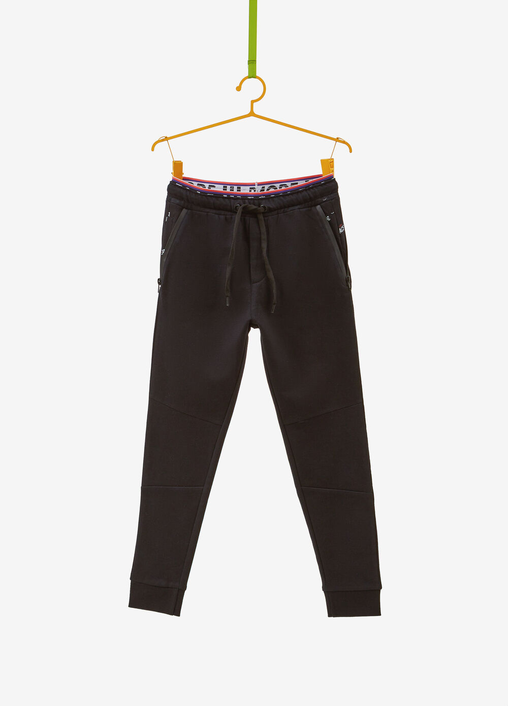 Organic cotton trousers with pockets