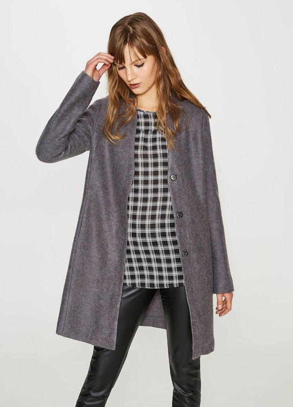 Coat with press-studs | OVS