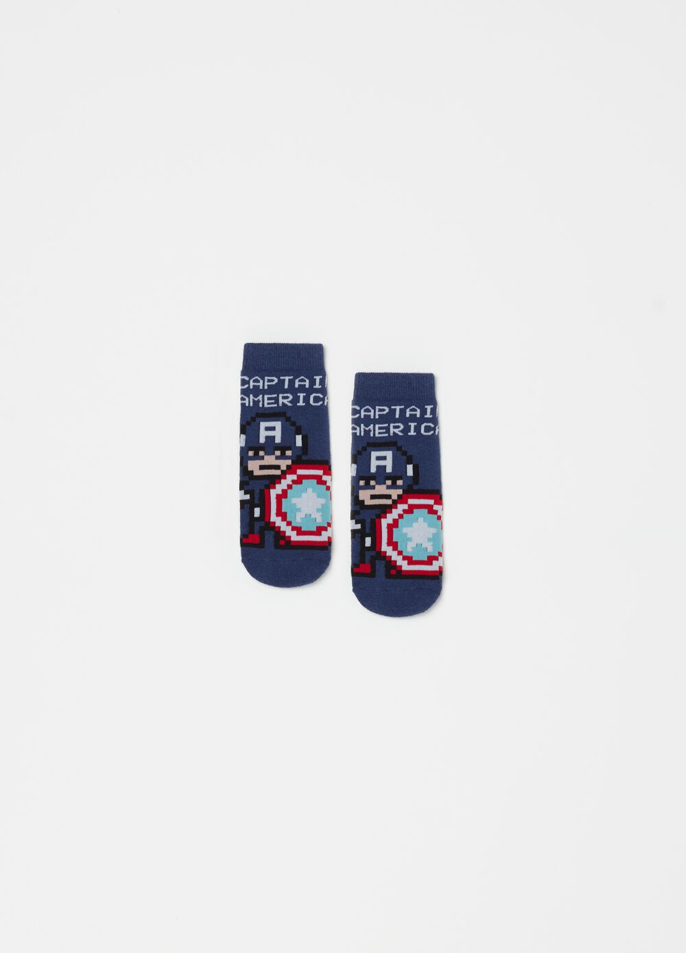 Captain America slipper socks