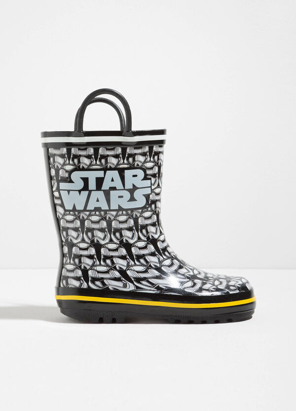 Rain boots with Star Wars pattern | OVS
