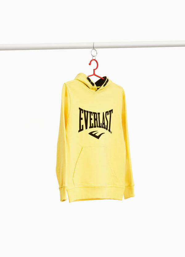 100% cotton sweatshirt with Everlast print