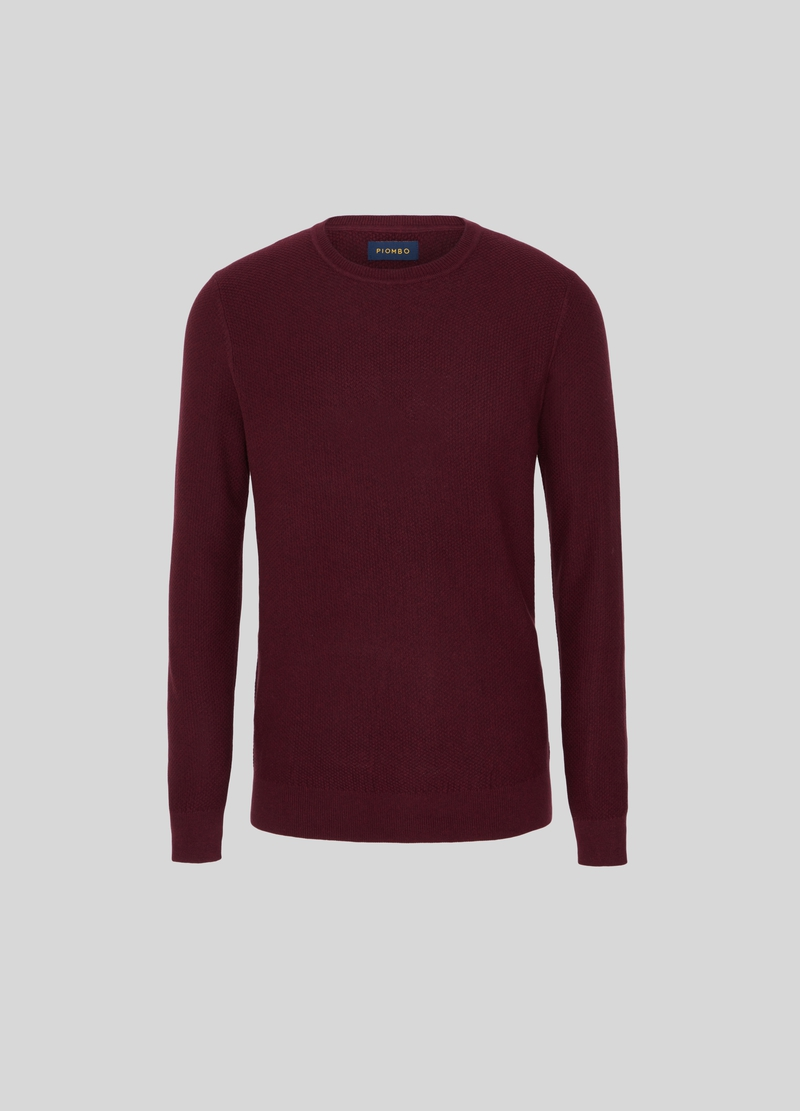 PIOMBO cotton, silk and cashmere pullover image number null