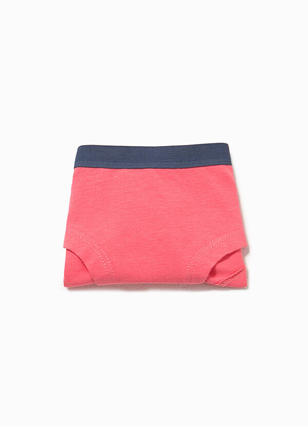 Culotte stretch con stampa gatto