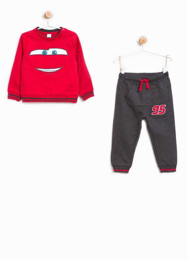 100% cotton tracksuit with Cars patch | OVS