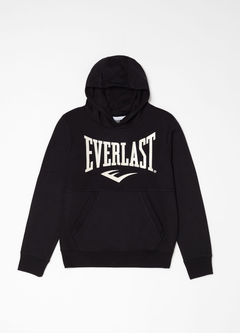 Crew-neck in 100% cotton with Everlast print