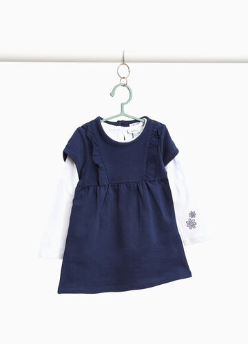 T-shirt and dress outfit with print