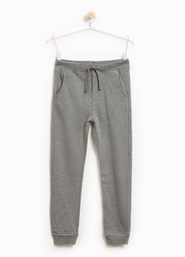Cotton and viscose joggers | OVS