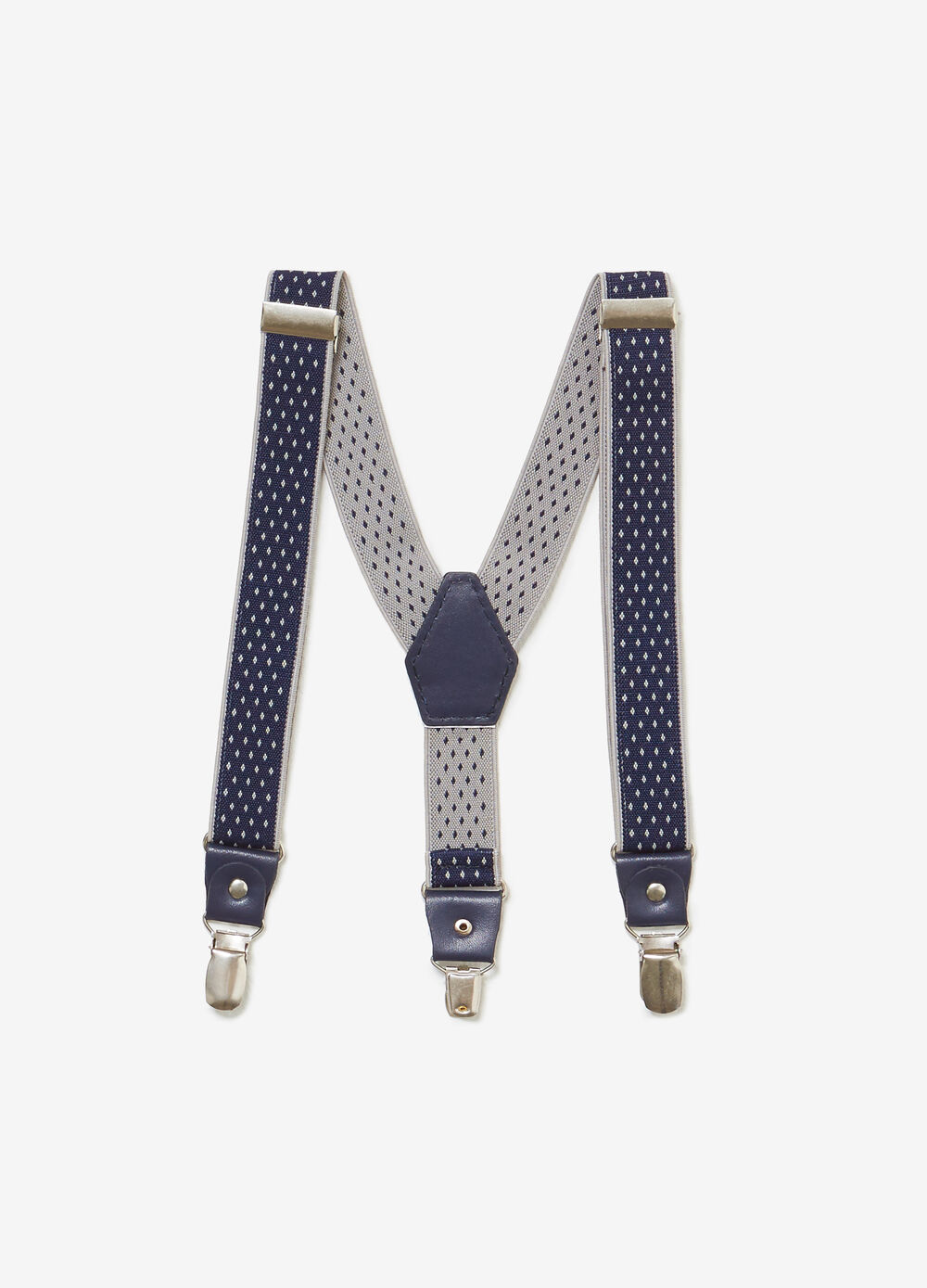 Adjustable braces with micro pattern.
