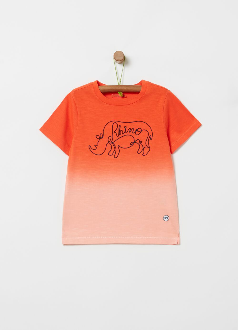 100% organic cotton degradé T-shirt