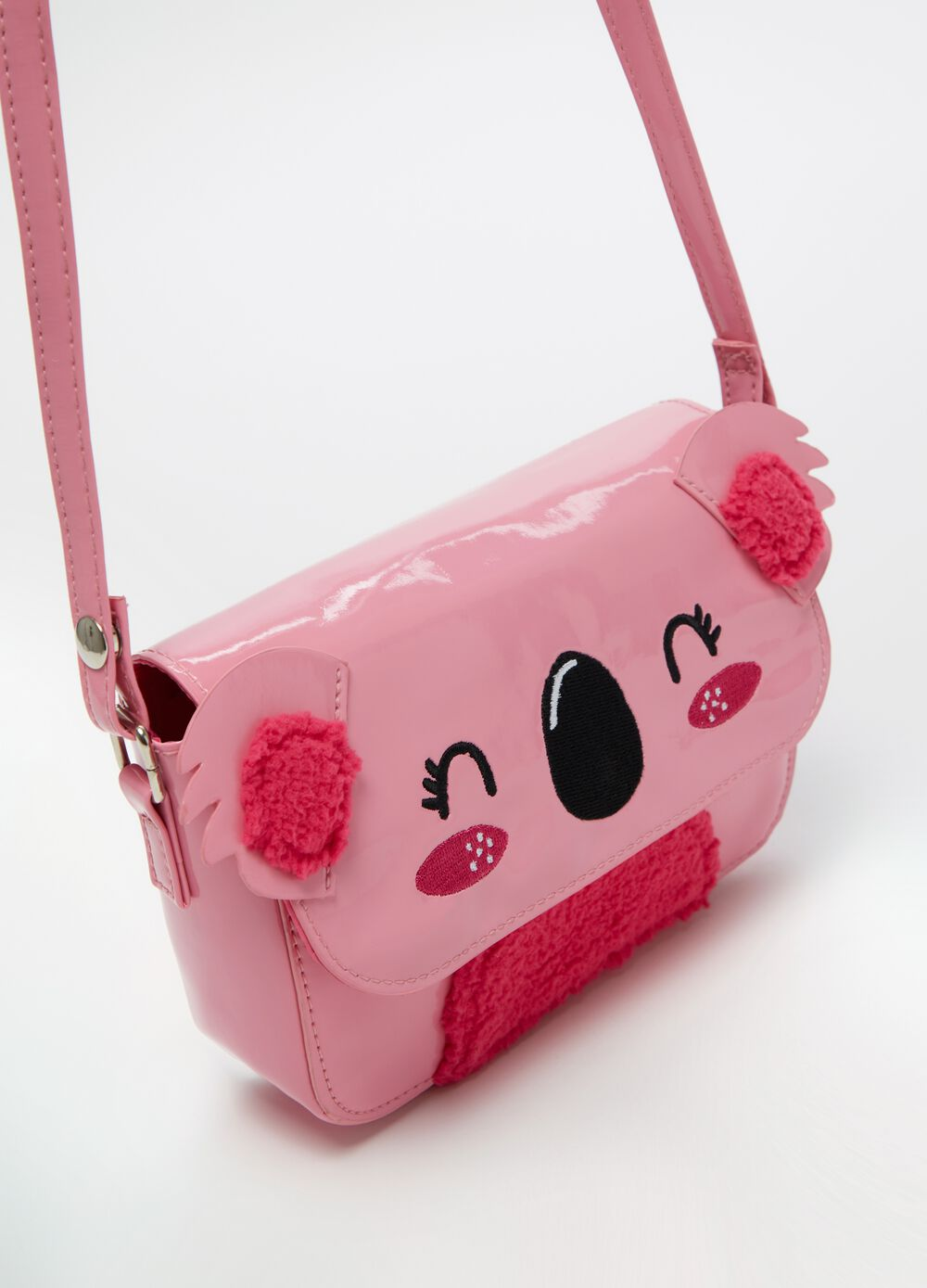 Shoulder bag with koala motif