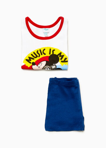 Underwear outfit with Mickey Mouse print