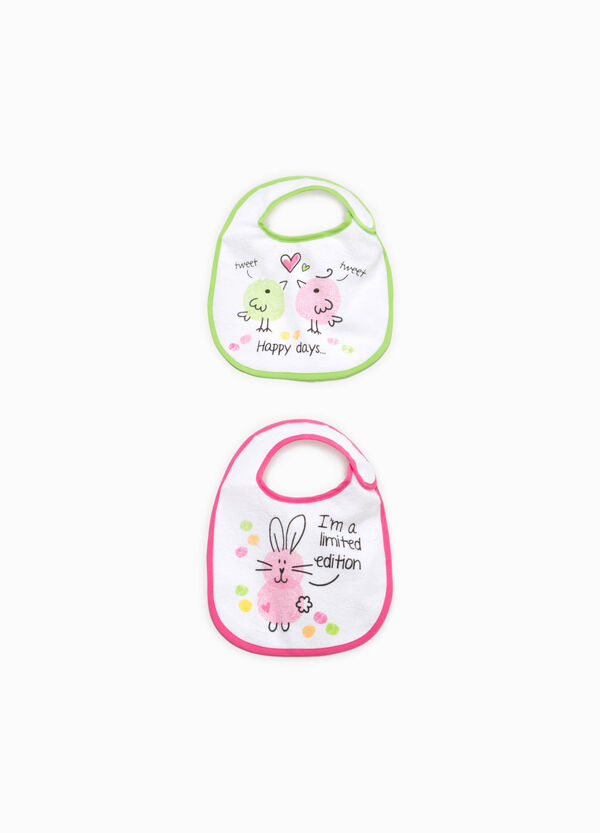 Two-pack bibs with animals print | OVS
