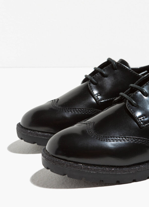 Brogues with glitter | OVS