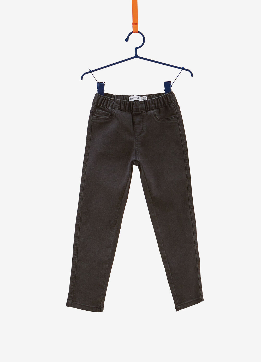 Stretch jeans-fit jeggings with five pockets