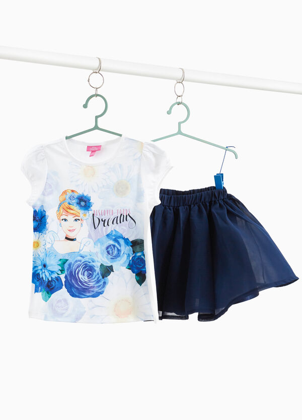 Cinderella T-shirt and skirt outfit
