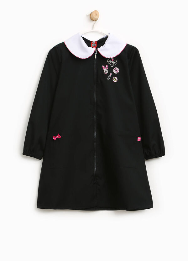 Cotton blend smock with Minnie Mouse embroidery | OVS