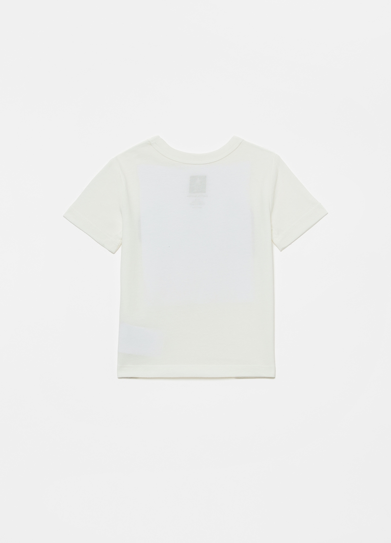 GAP cotton T-shirt with logo print image number null