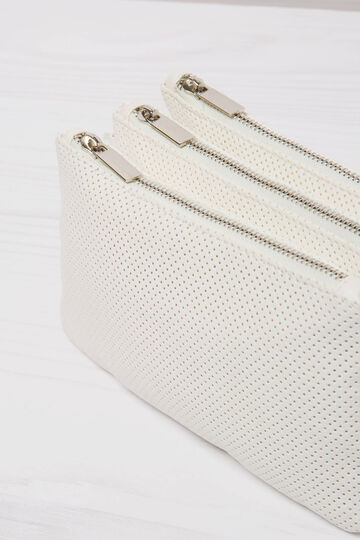 Openwork shoulder bag