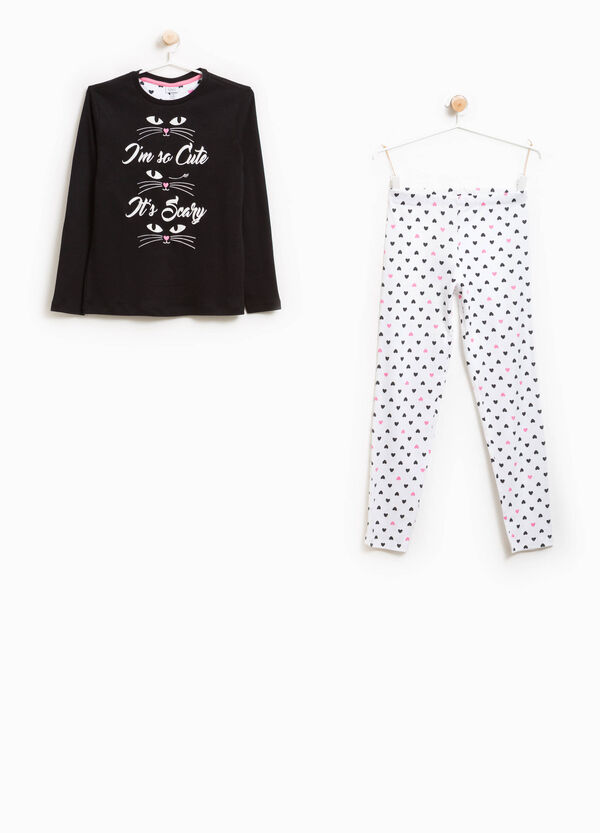Better Cotton heart pyjamas | OVS