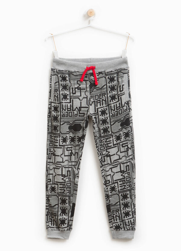 Stretch cotton Spiderman joggers | OVS