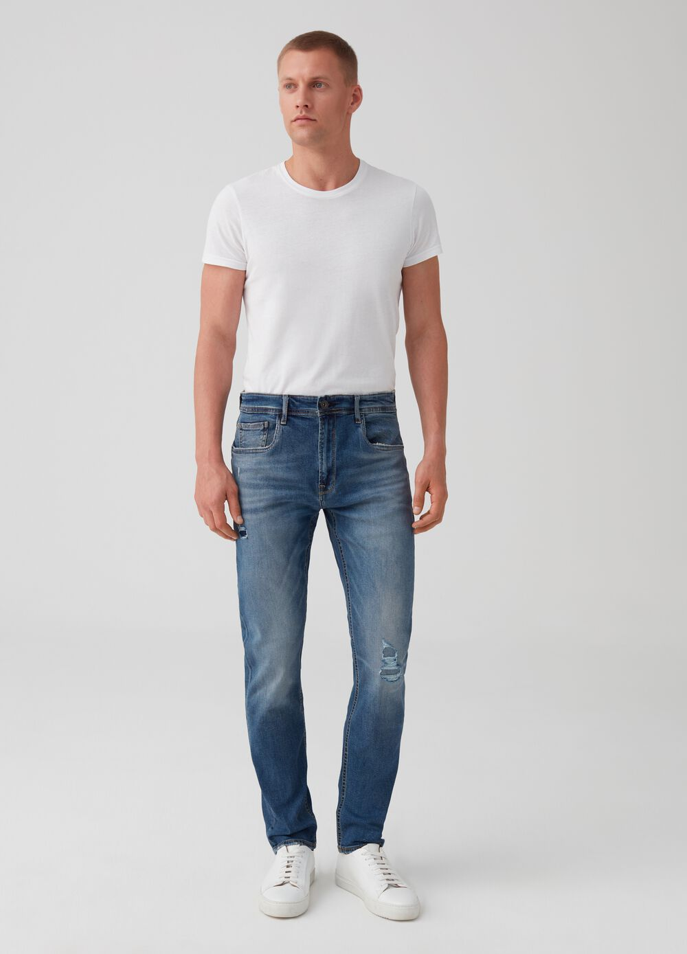 5-pocket slim-fit jeans