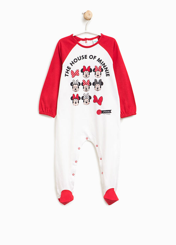 Cotton sleepsuit with feet | OVS